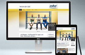 Webdesign Onlineshop www.leo-regale.de von Studio2