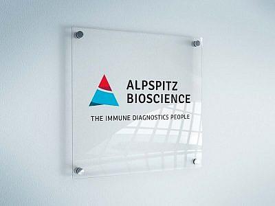 Logodesign für Alpspitz Bioscience