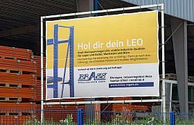 Außenwerbung Banner, Design von Studio2