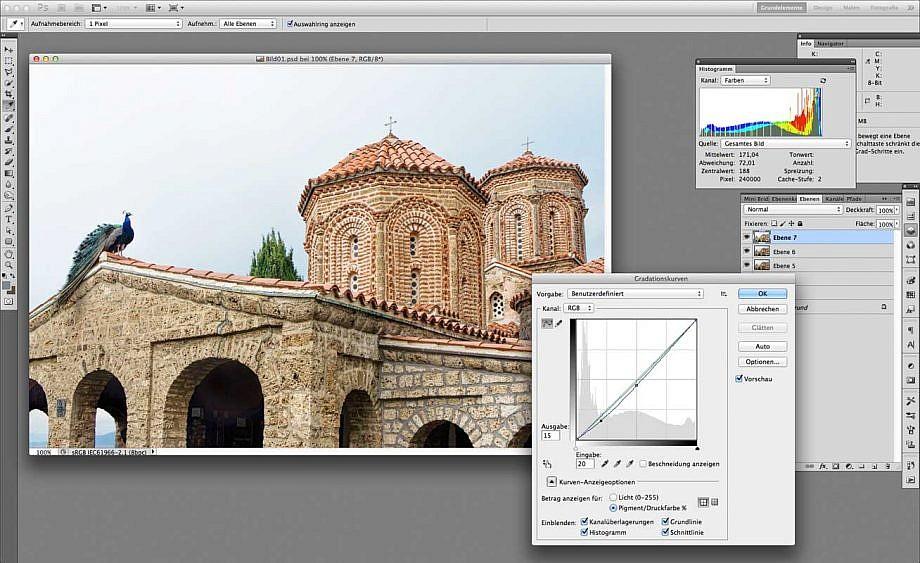 Bildschirmfoto Adobe Photoshop