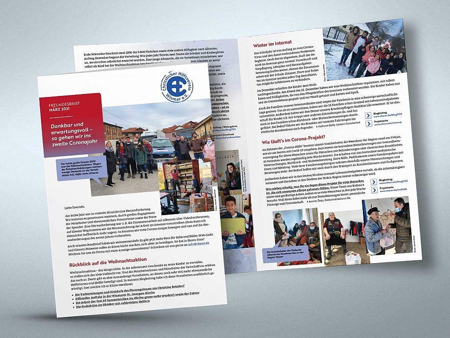 CHW Newsletter Design von Studio2