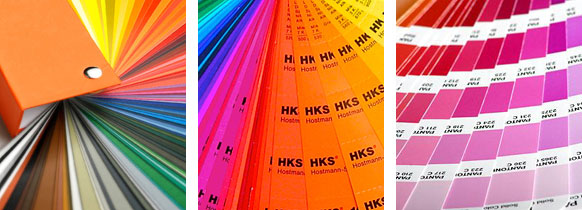 Farbfächer CMYK