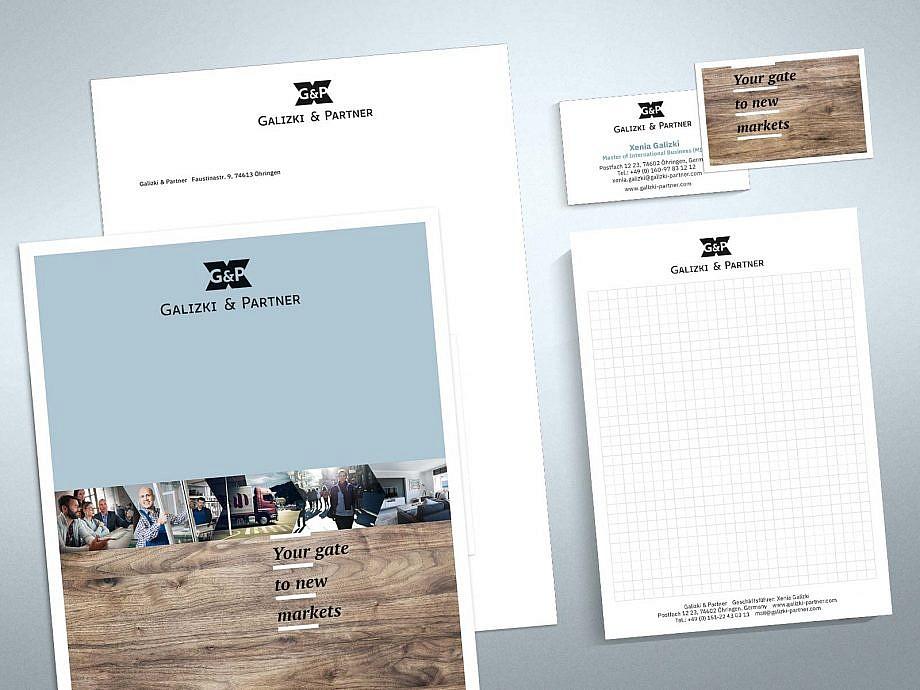 Corporate Design von Studio2 für Galizki & Partner