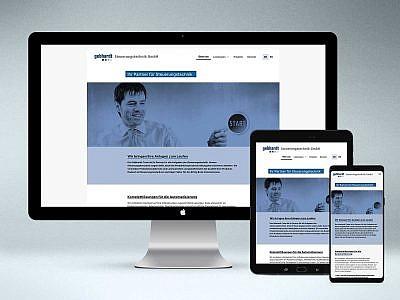 Webdesign von Studio2 für Gebhardt Steuerungstechnik