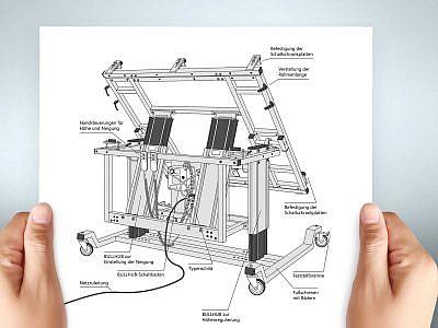 Technische Illustration von Studio2 für Haid