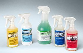 Studio2 Etiketten für die HUCKA-Produktpalette