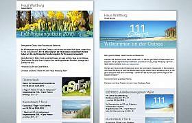E-Mail-Newsletter Design von Studio2
