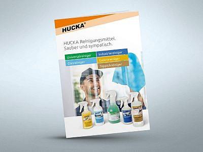 Hucka-Prospekt Gewerbekunden