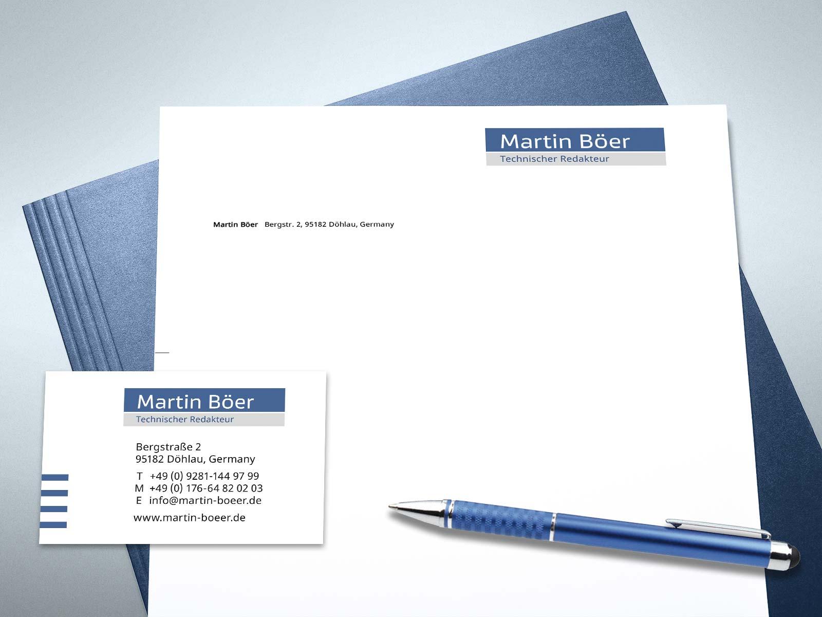 Martin Böer, Geschäftsdesign von Studio2