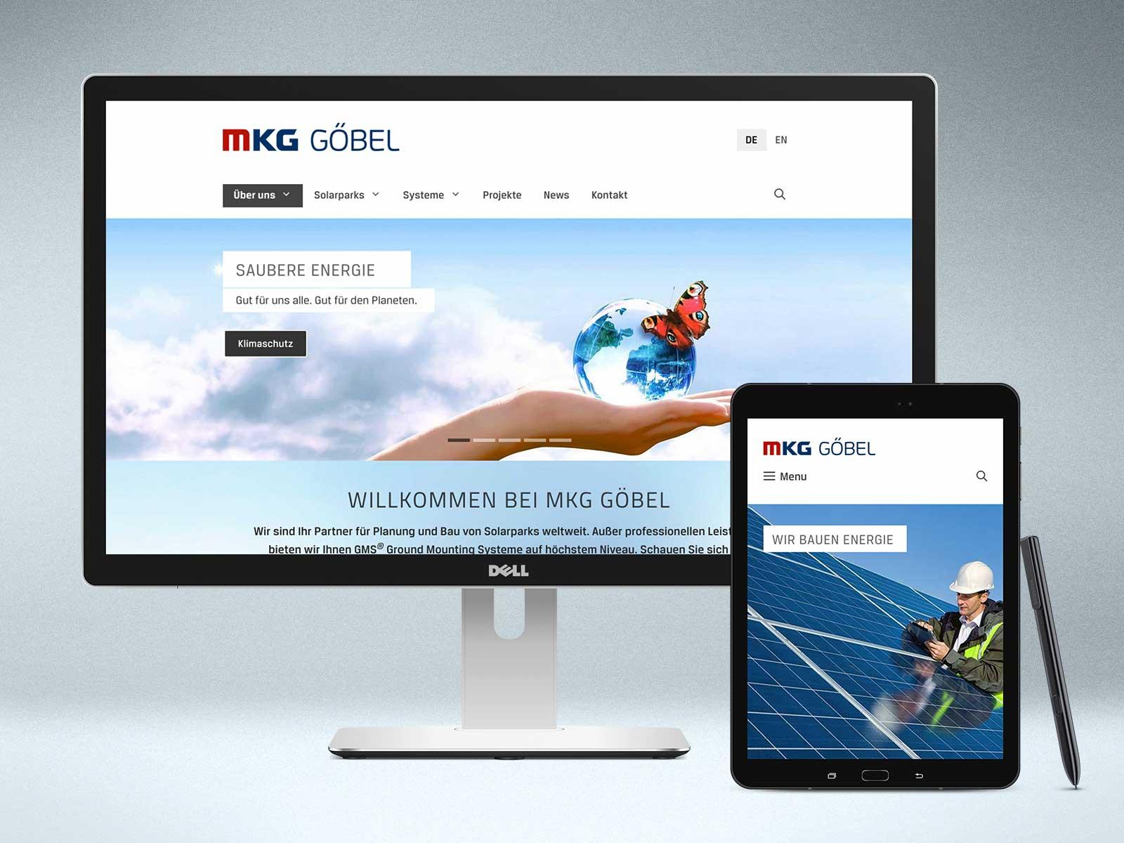 Studio2 Webdesign für www.mkg-goebel.de