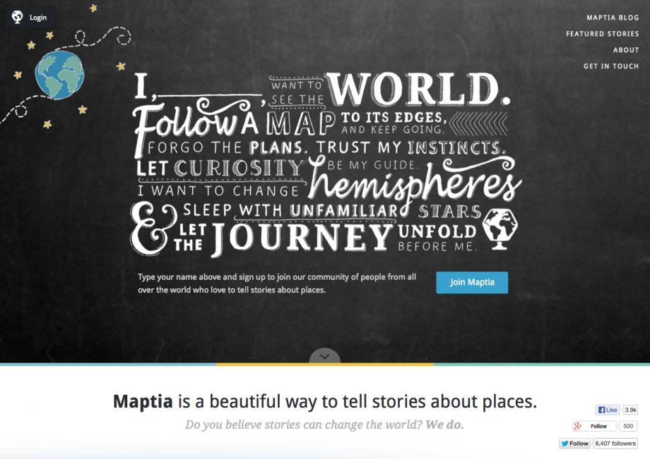 Webdesign Maptia