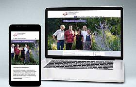 Webdesign Website www.offene-gaerten-hohenlohe.de
