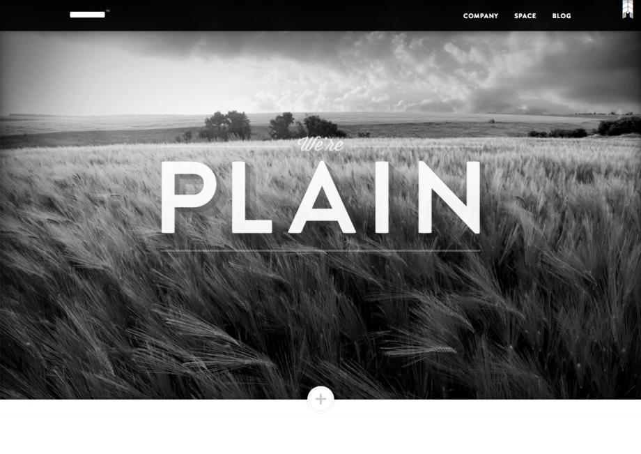 Webdesign Plain