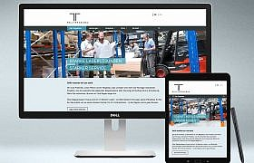 Rall Regalbau Website von Studio2