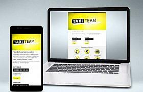 Webdesign von Studio2 für www.taxiteam.info