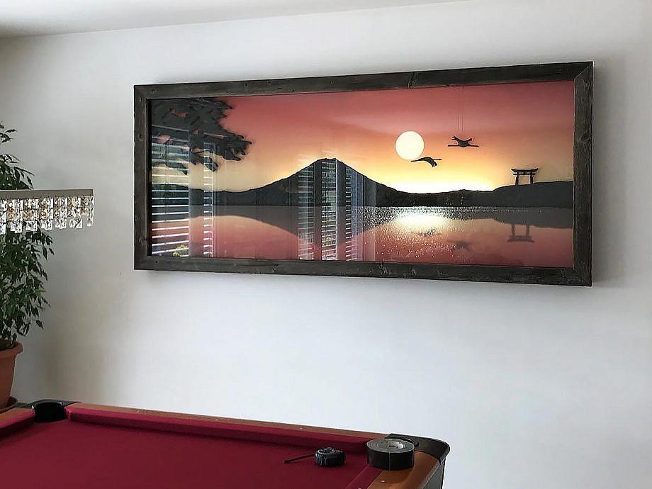 Wandbild fertige Ausführung