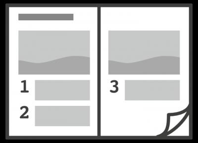 Printmedien Gestaltung Bedienungsanleitungen