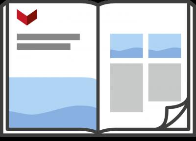 Printmedien Gestaltung Prospekte Kataloge