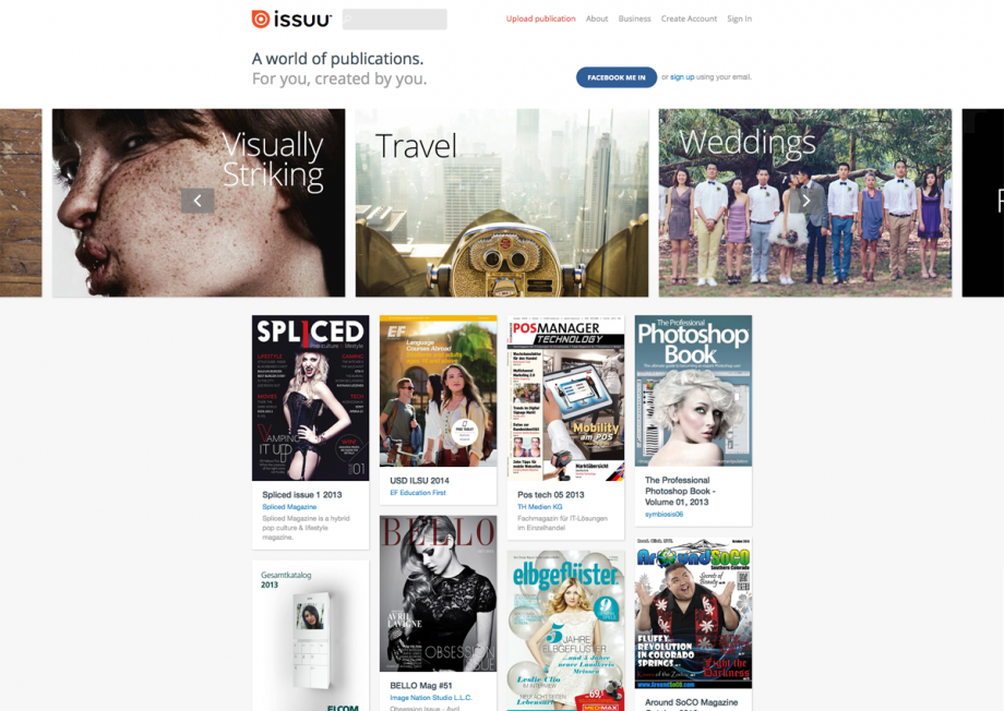 Webdesign issuu