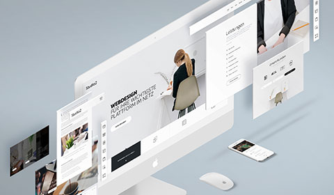 Webdesign Baukausten